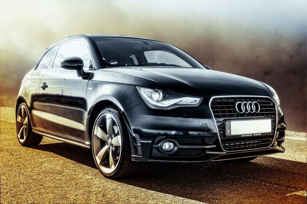 Berline de la marque Audi